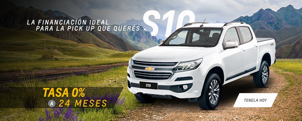 Oferta e Chevrolet S10 de Yacopini Motors