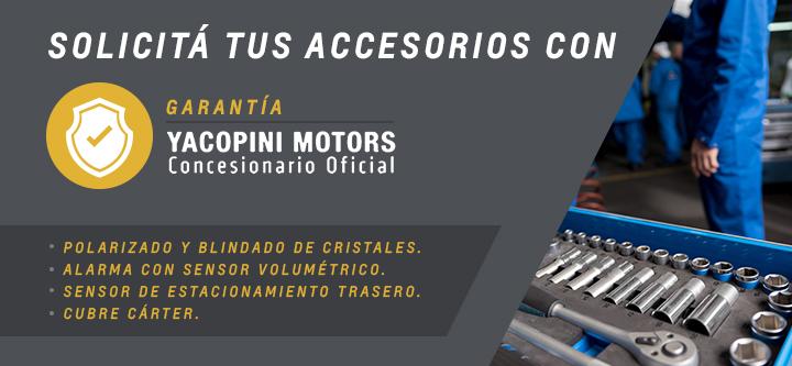 Accesorios Chevrolet en Yacopini Motors