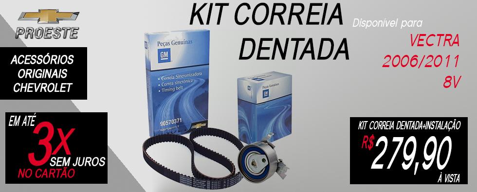kit correia dentada 90570371