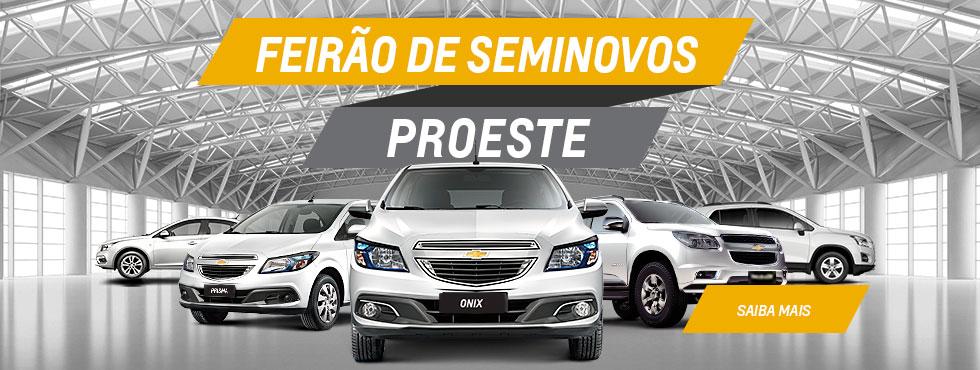 Feirão Seminovos Proeste.