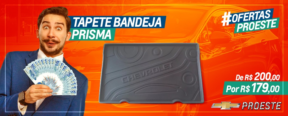 TAPETE BANDEJA PRISMA - OFERTAS PROESTE
