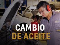 Chevrolet Autolitoral - Cambio de aceite -Kit de mantenimiento