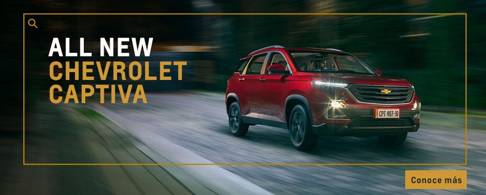 Chevrolet Autolitoral  - Captiva All New