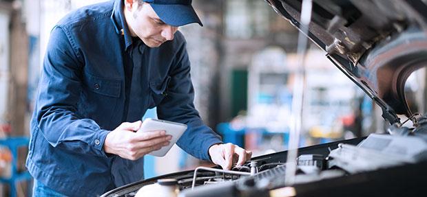 Serviços de manutenção e reparo para revisão de carros na concessionária Chevrolet Sabenauto