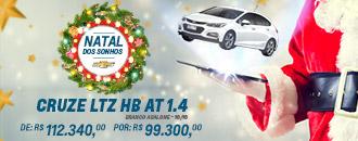 Oferta de Natal Cruze LTZ HB