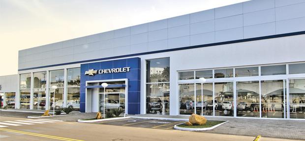Fachada concessionária Chevrolet Metronorte