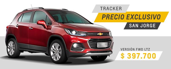 Oferta en Chevrolet Tracker de Automóviles San Jorge