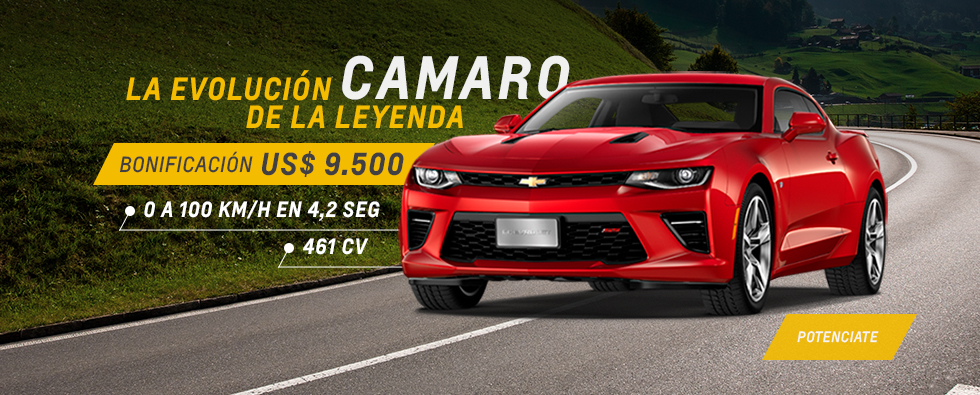 Chevrolet Camaro en Automóviles San Jorge