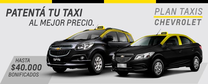 Plan Taxis Chevrolet San Jorge