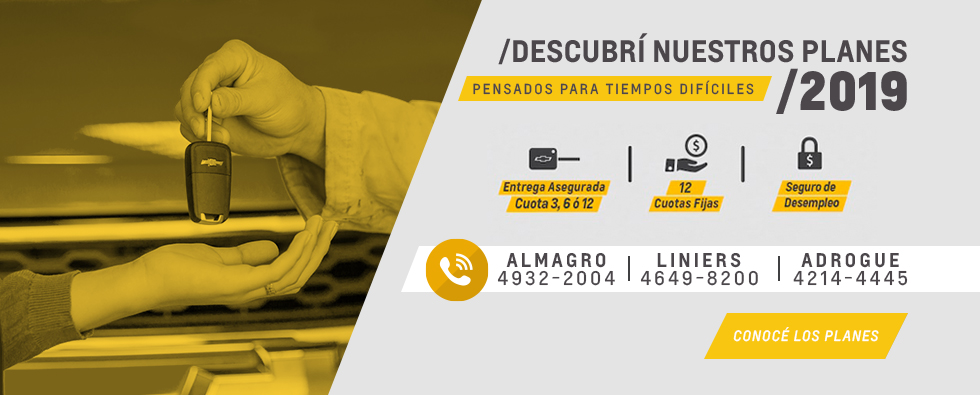 Plan de Ahorro Chevrolet en San Jorge