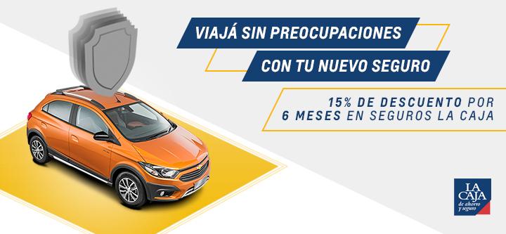Cuidá tu Chevrolet con los descuentos en seguros La Caja que ofrece San jorge