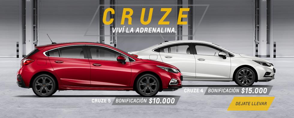 Oferta nacional Chevrolet Cruze 4 y 5
