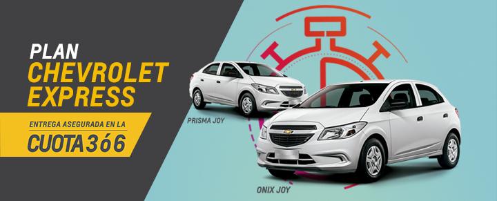 Plan Chevrolet Express en Automóviles San Jorge