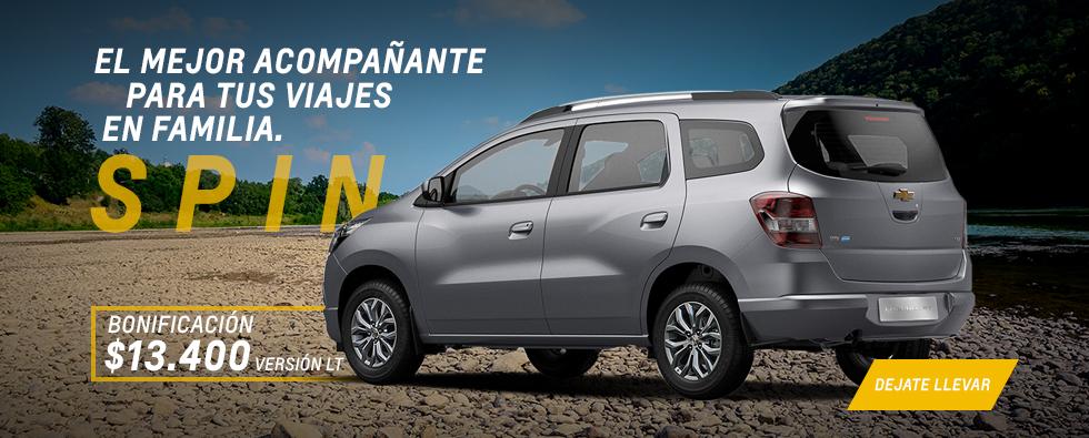 Oferta nacional Chevrolet Spin
