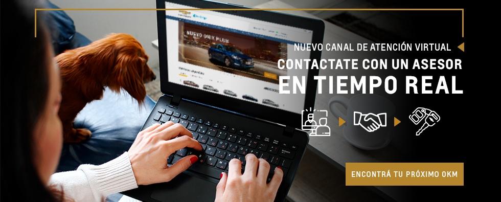 Conectate en tiempo real con Chevrolet San Jorge