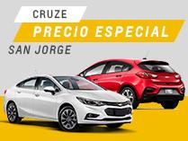 Oferta Cruze 4 y 5 Chevrolet Automóviles San Jorge