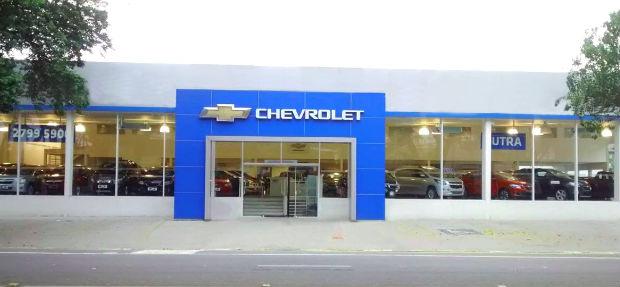 Fachada concessionária Chevrolet Dutra
