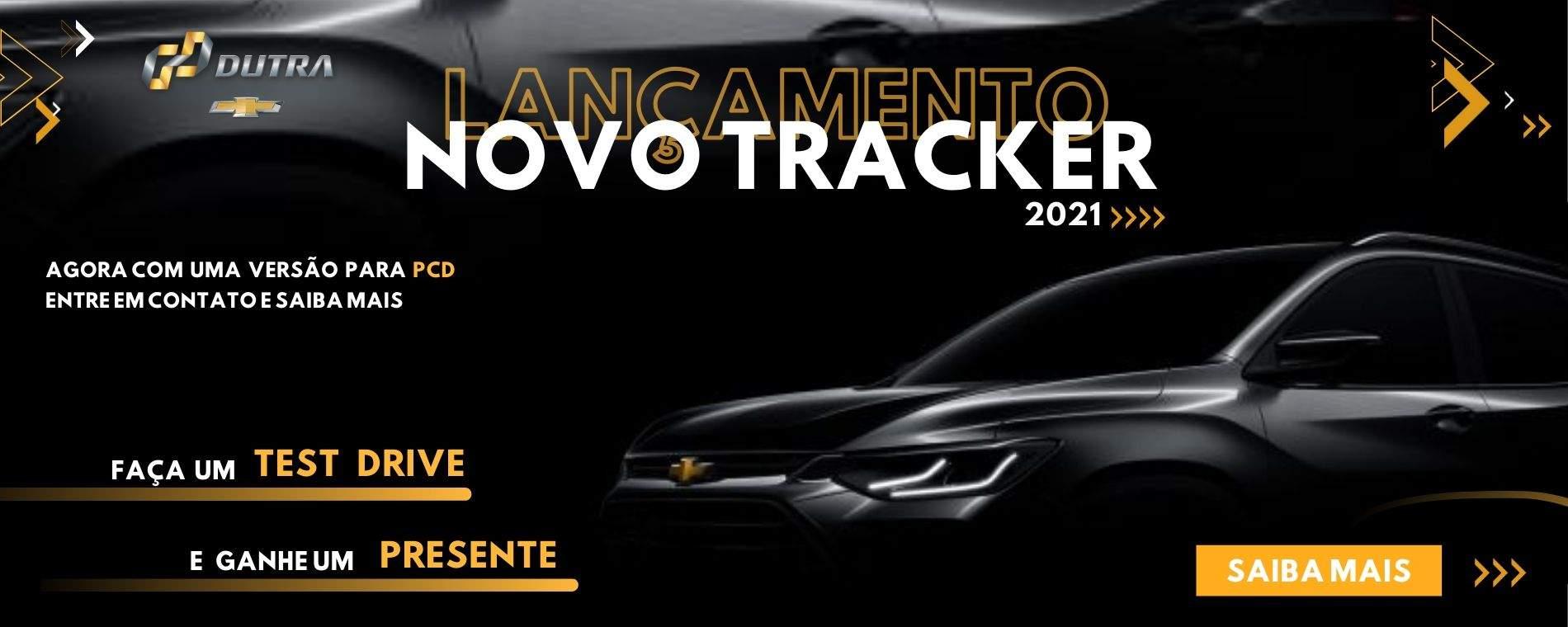 Lançamento Chevrolet Tracker 2021