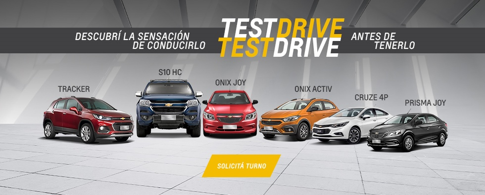 Test Drive Chevrolet en Caseros