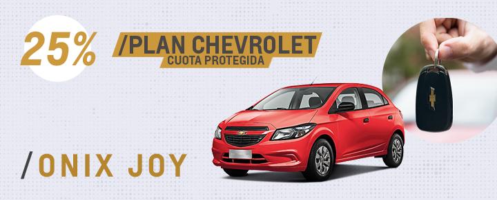 Descuentos Plan Chevrolet Onix Joy - San Martin y Caseros