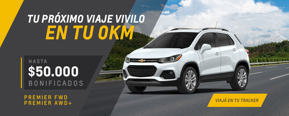 Oferta en Chevrolet Tracker de Roycan
