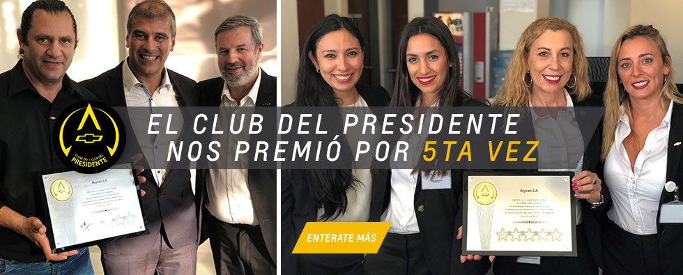 Club del Presidente Chevrolet