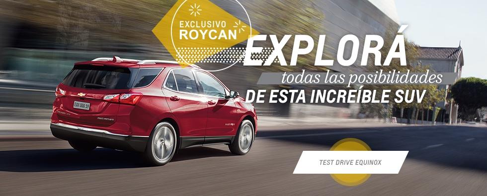 Test Drive Chevrolet Equinox en Roycan