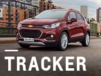Chevrolet Tracker con bonificación exclusiva