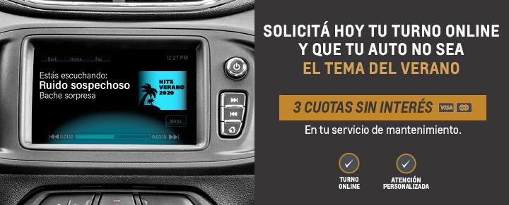 Servicio Personalizado Postventa Chevrolet 6 cuotas sin interés