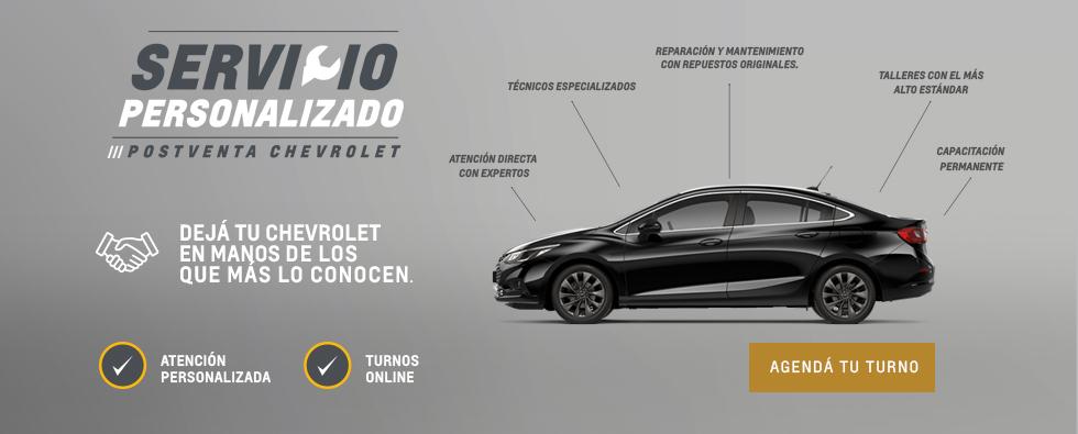 Servicio Personalizado Chevrolet - Postventa en Concesionario Oficial
