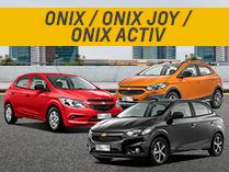 Oferta en Chevrolet Onix y Onix Joy