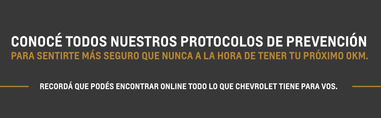 Protocolo de prevención y protección en concesionarios Chevrolet