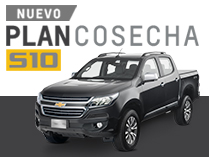 Plan Cosecha para Chevrolet S10 Cabina Doble