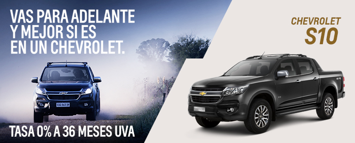 Financiación para Chevrolet S10