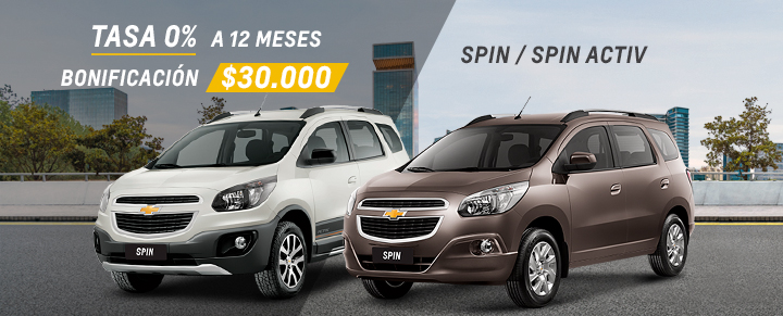 Oferta de Chevrolet Spin