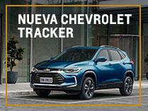 Nueva Chevrolet Tracker financiada con 12 cuotas fijas