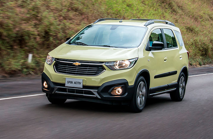 Chevrolet Nueva Spin Activ 2019 0km Chexa