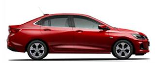 Nuevo Chevrolet Onix Plus lateral derecho