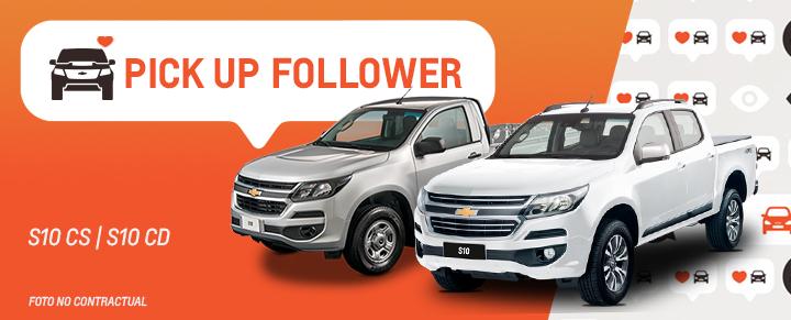 Auto Follower Chevrolet S10 Cabina Doble y Cabina Simple
