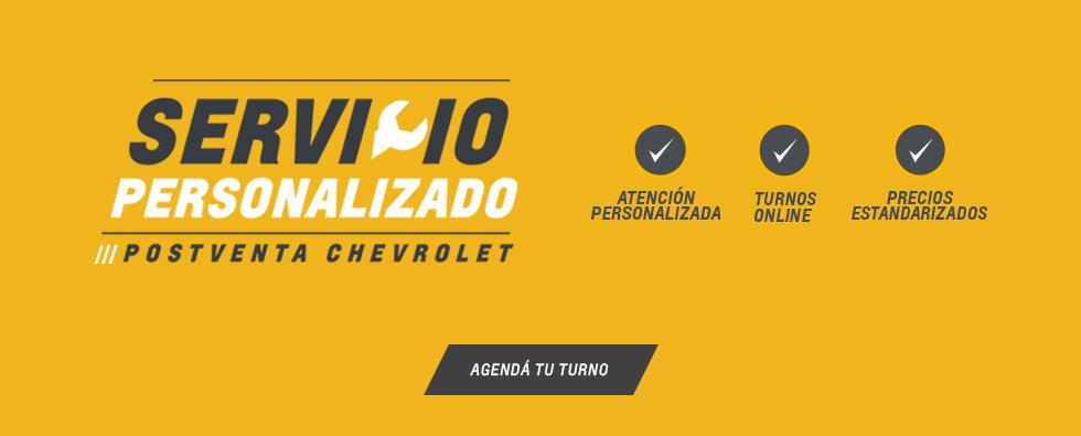 Servicio Personalizado Postventa Chevrolet