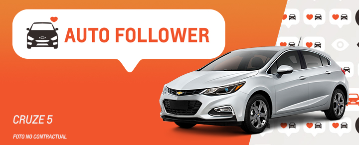 Auto Follower Chevrolet Cruze 5