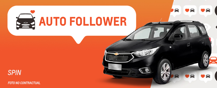 Auto Follower Chevrolet Spin