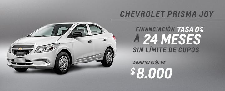Oferta Chevrolet Prisma Joy