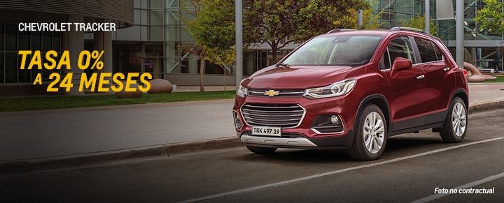Oportunidades Chevrolet en Tracker