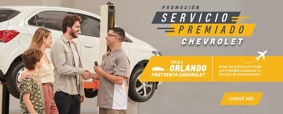 Servicio Premiado Chevrolet