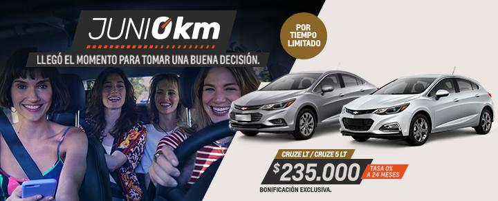 Chevrolet Cruze y Cruze 5 0km Plan de Descuentos del Gobierno