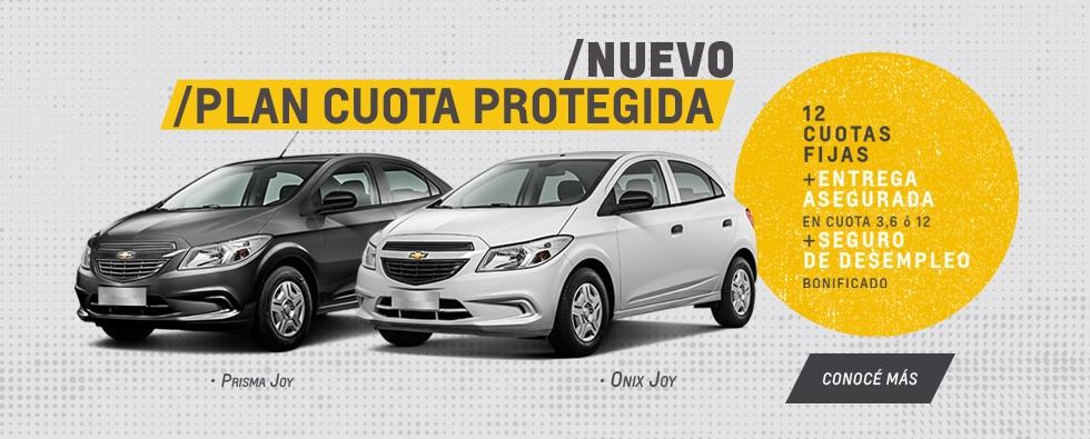 Nuevo Plan Chevrolet Cuota Protegida