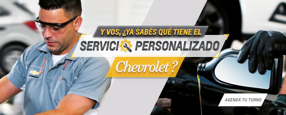 Servicio Personalizado Chevrolet