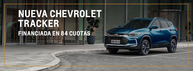 Plan Chevrolet 80/20 para Nueva Tracker