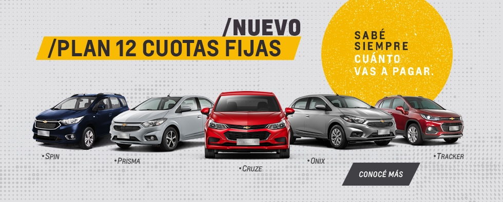Nuevo Plan Chevrolet Cuota Fija